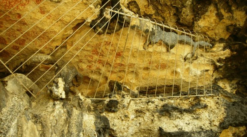 Cave Petroglyphs Bonaire