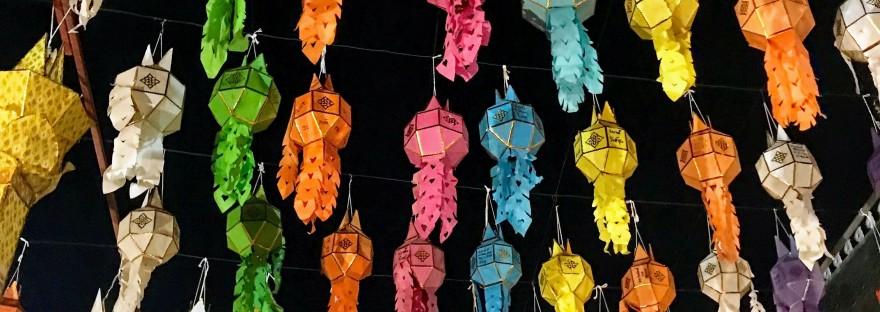 Yi Peng Festival Chiang Mai Thailand, lantern festival